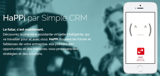 Intelligence artificielle HaPPi CRM